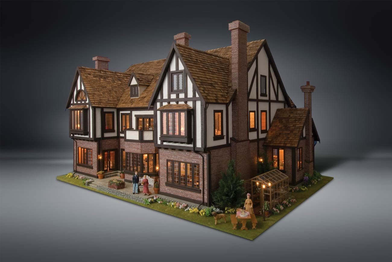 Mw Dollhouse With Background 2017 Miniature World